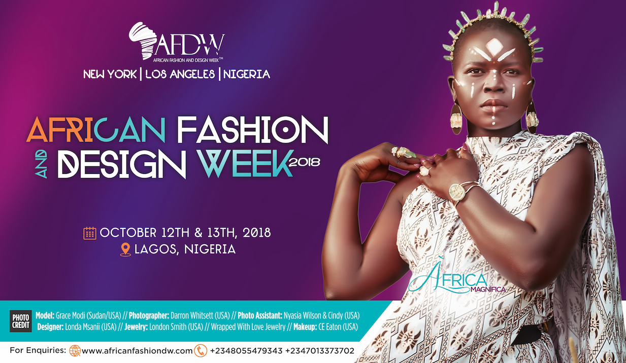 African Fashion and Design Week 2018: The Continent's Runway